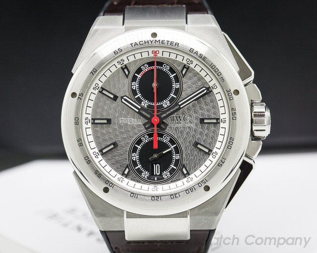 IWC Ingenieur Chronograph Silberpfeil Limited Edition SS / Leather