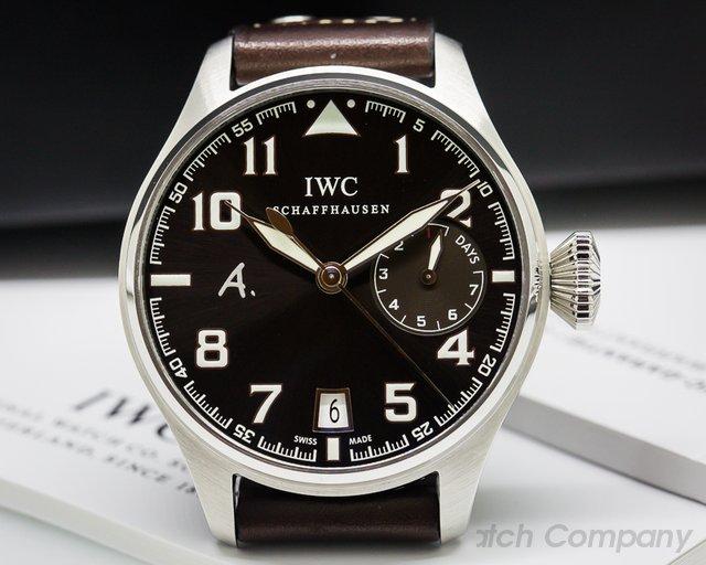 IWC Big Pilot Antoine De Saint Exupery Limited Edition Brown Dial