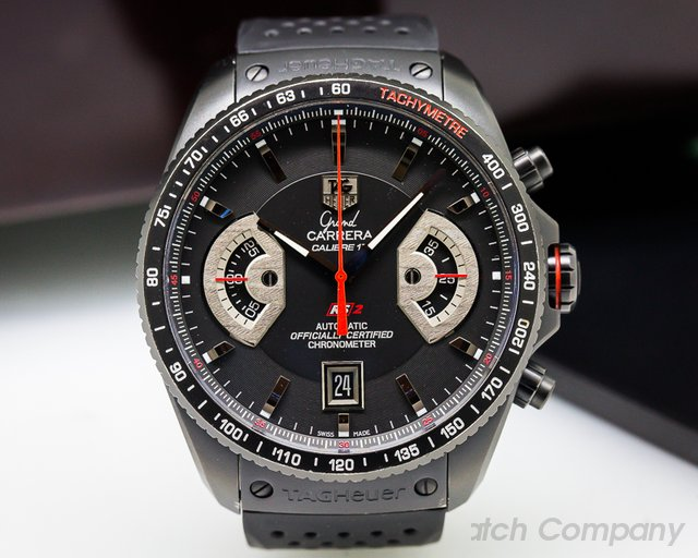 TAG Heuer Grand Carrera Chronograph Caliber 17 PVD Titanium