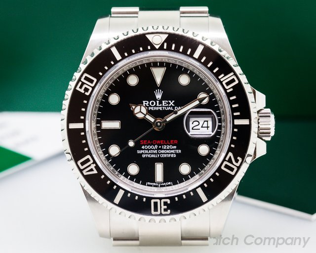 Rolex Sea Dweller RED 43mm 50th Anniversary SS/SS