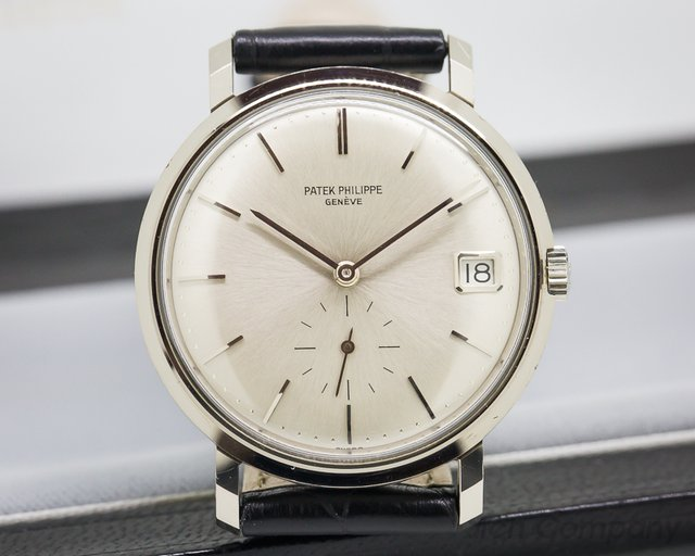 Patek Philippe Vintage Calatrava 3445 Automatic 18K White Gold 'NEW OLD STOCK'