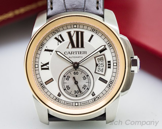 Cartier Calibre de Cartier SS / 18K Rose Gold