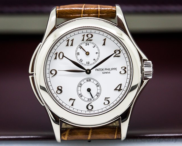 Patek Philippe Travel Time 18K White Gold / Breguet Numerals