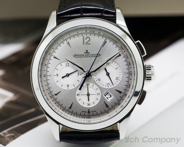 Jaeger LeCoultre Master Chronograph SS Silver Dial