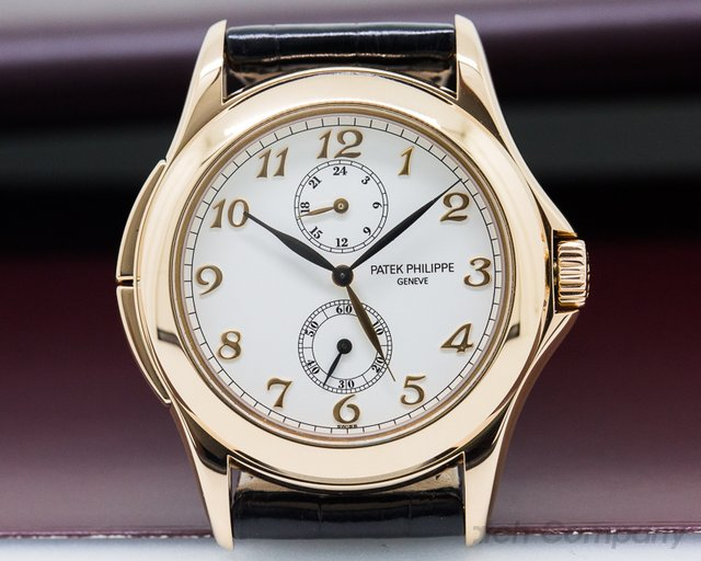 Patek Philippe Travel Time 18K Rose Gold / Breguet Numerals