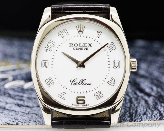 Rolex Cellini Danaos White Gold / White Gold