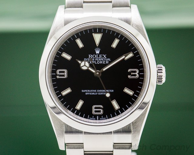 Rolex Explorer I 36MM SS FULL SET