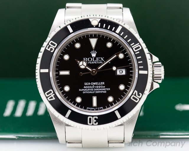 Rolex Sea Dweller SS / SS