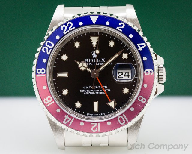 Rolex GMT Master Red / Blue Pepsi Bezel