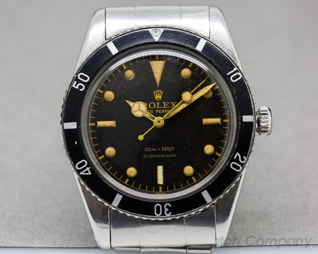 Rolex Vintage Submariner 6536 'James Bond' INCREDIBLE