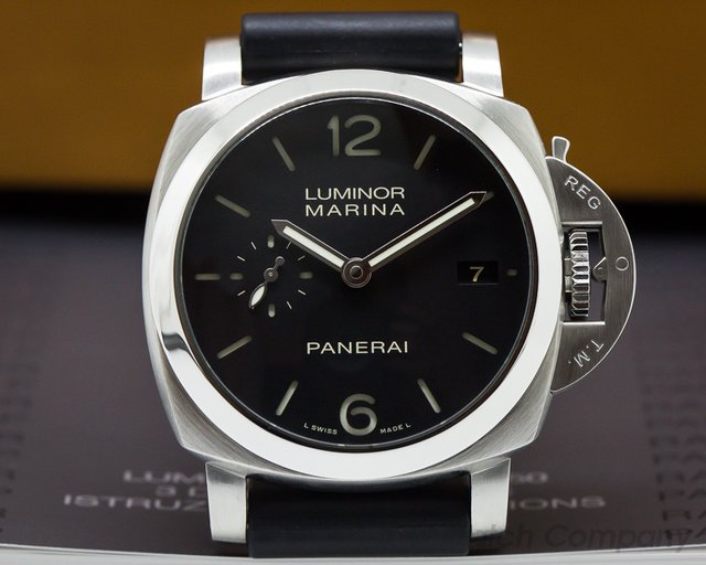Panerai Luminor Automatic SS Black Dial 42MM