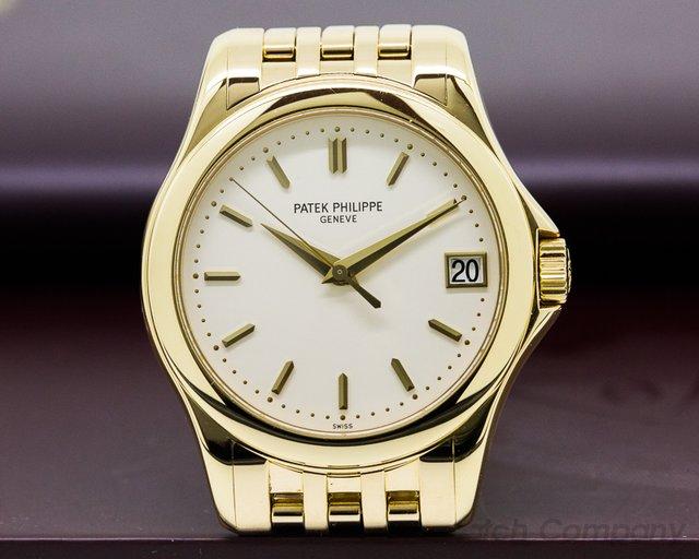 Patek Philippe Calatrava 18K Yellow Gold / Bracelet