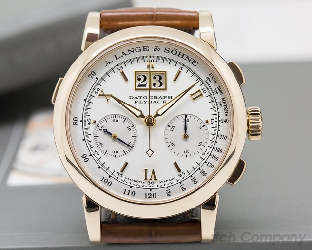 A. Lange and Sohne Datograph 18K Rose Gold