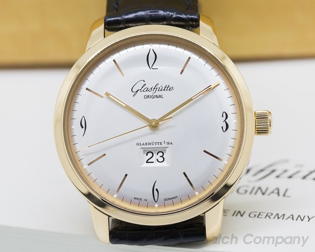 Glashutte Original Senator Sixties Panorama Date Rose Gold