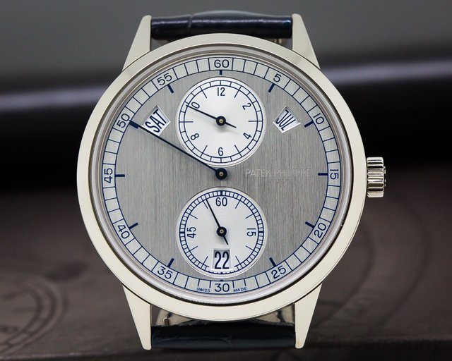 Patek Philippe Annual Calendar Regulator 18K White Gold
