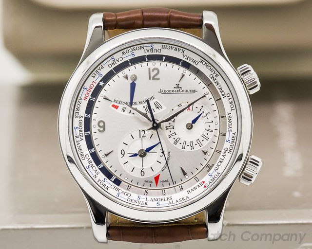 Jaeger LeCoultre Master World Geographic SS
