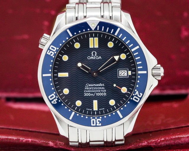 Omega Seamaster Professional Blue Dial SS