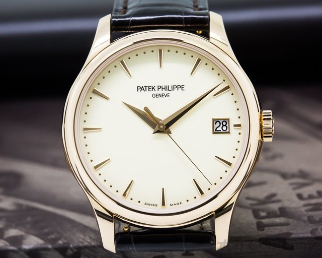 Patek Philippe Calatrava Automatic 18K Rose Gold