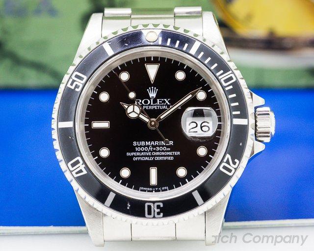 Rolex Submariner Date SS Full Set + Original Receipt