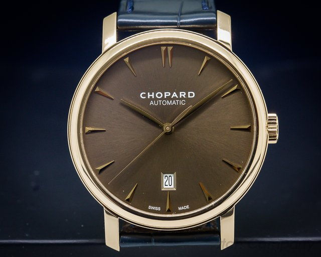 Chopard Classic Brown Dial 18K RG Automatic