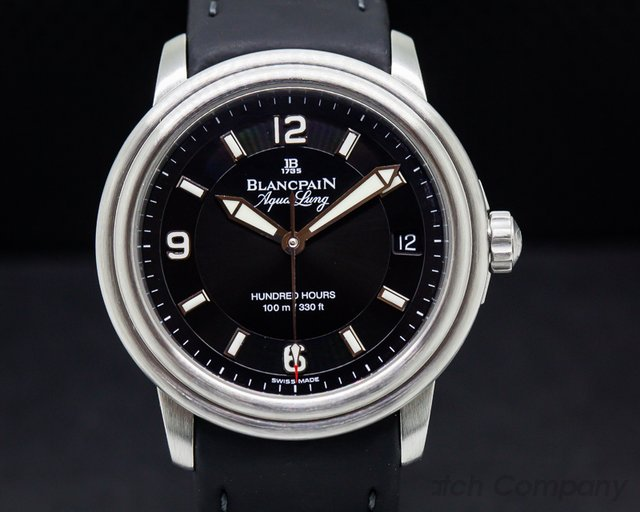 Blancpain Leman Aqualung Ultra Slim Automatic SS / Strap