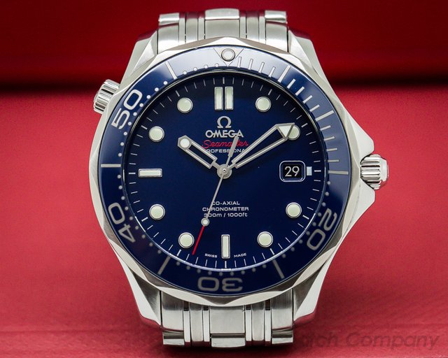 Omega Seamaster Professional Blue Dial Co-Axial SS / SS