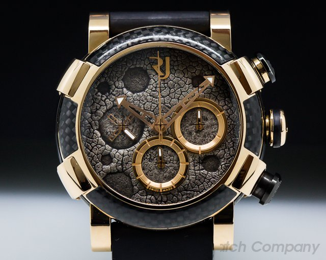 Romain Jerome  Moon Dust Red Mood Chrono 18k Rose Gold
