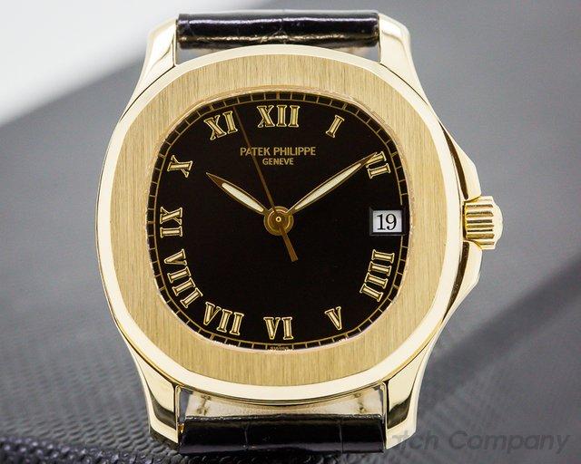 Patek Philippe Aquanaut Automatic 35MM 18k Yellow Gold RARE