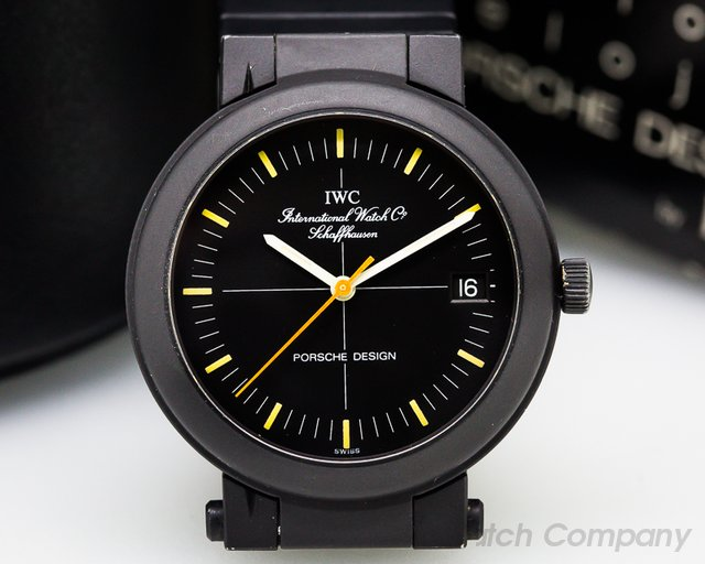 IWC Porsche Design PVD Aluminum Compass Watch