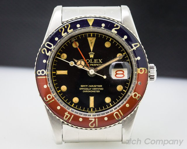 Rolex 6542 Vintage GMT Master Bakelight WOW