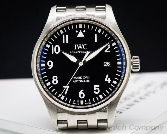 IWC Mark XVIII Black Dial SS / SS