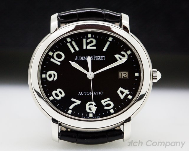 Audemars Piguet Millenary SS Arabic Numerals Black Dial 35MM