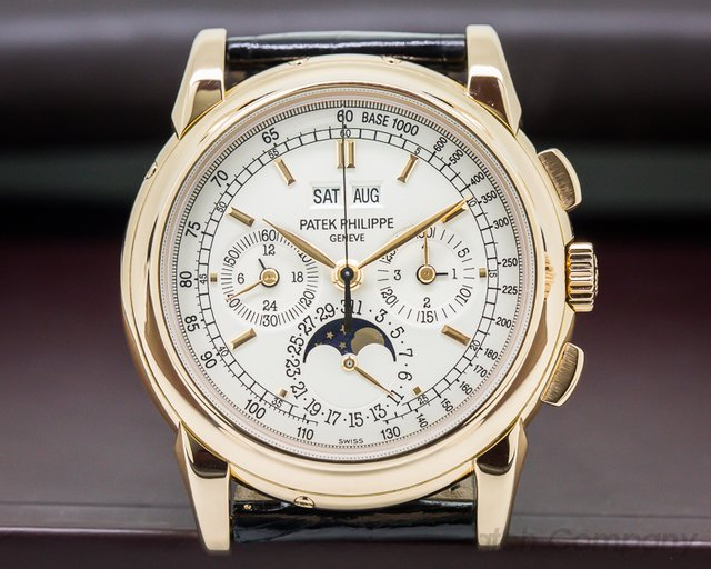 Patek Philippe Perpetual Calendar Chronograph 18K Rose Gold FULL SET