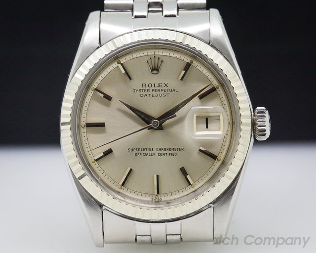 Rolex 1601 Oyster Perpetual Datejust 50s SS / Jubilee