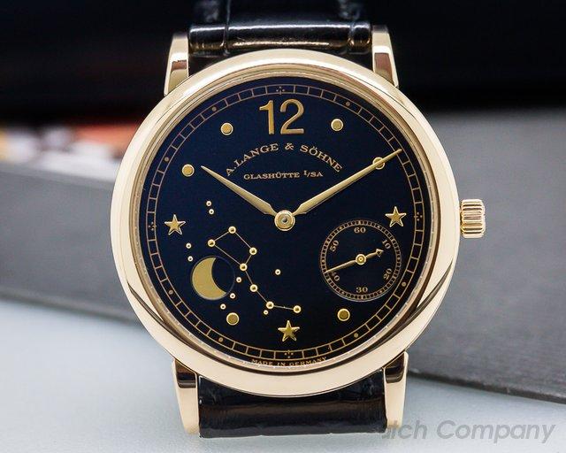 A. Lange and Sohne 1815 Moonphase Hommage to Emil Lange Rose Gold Limited