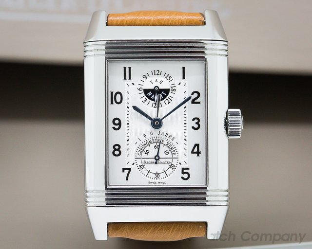 Jaeger LeCoultre Reverso XL Wempe 100th Anniversary Automatic SS