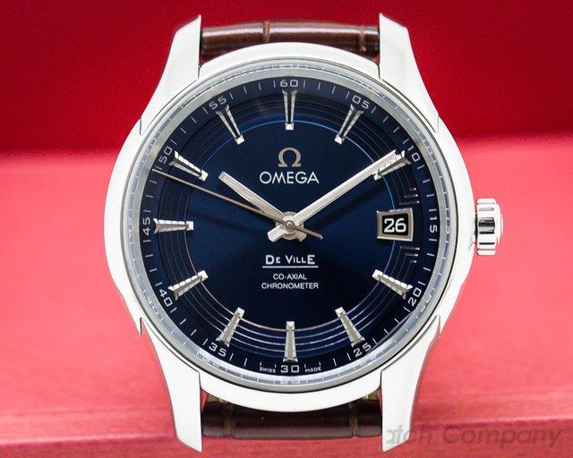 Omega De Ville Co-Axial Hour Vision Blue Dial SS