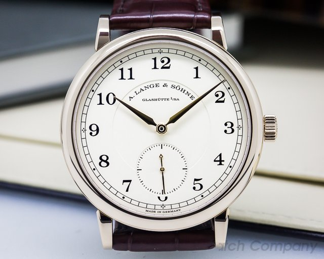 A. Lange and Sohne 236.050 200th Anniversary F.A Lange 1815 Honey Gold