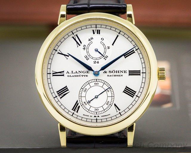 A. Lange and Sohne Grosse Langematik Gangreserve Limited for Wempe 18k YG