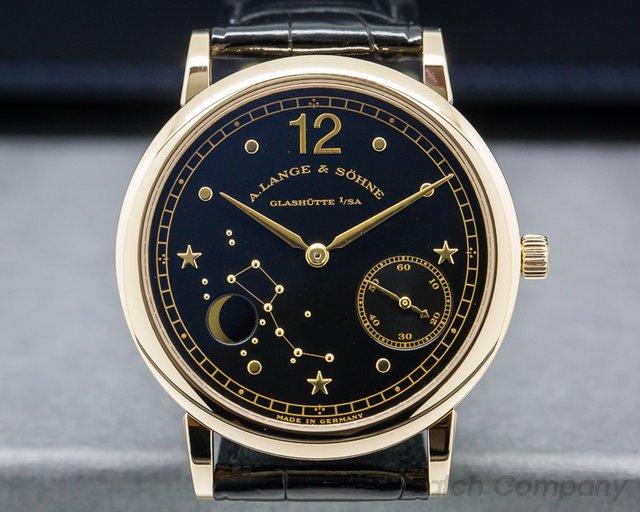 A. Lange and Sohne 231.031 1815 Moonphase Hommage to Emil Lange Rose Gold Limited