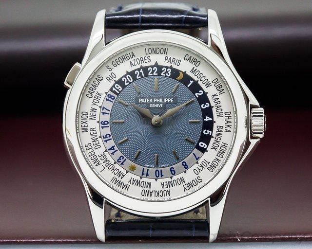 Patek Philippe 5110P-001 World Time Platinum