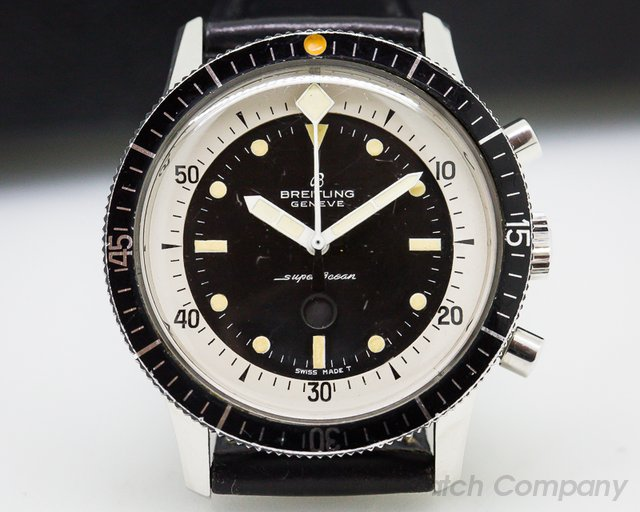 "Breitling Vintage Breitling SuperOcean ""Slow Counter"" Chronograph RARE"