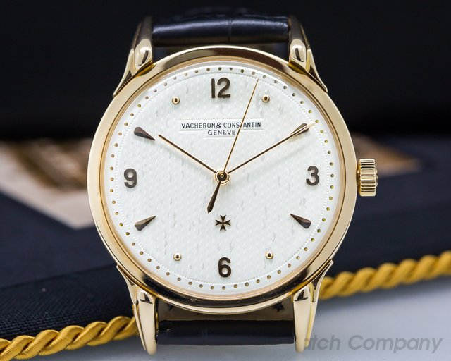 Vacheron Constantin 4526 Vintage Collectionneurs Calatrava Manual 18K Rose Gold Oversized