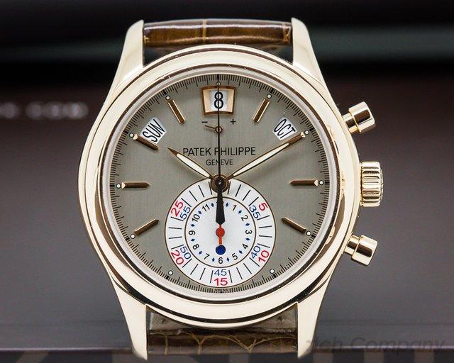Patek Philippe 5960R Annual Calendar Chronograph 18K Rose Gold