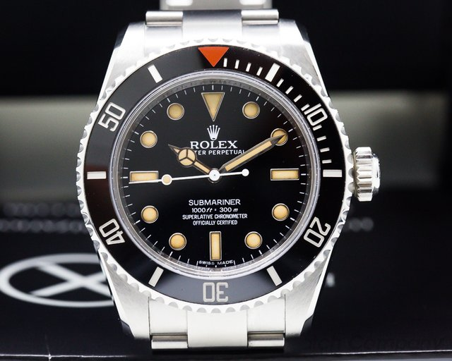 Rolex Project X Designs HS01 Submariner No Date Ceramic Bezel SS LIMITED