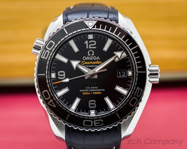 Omega Seamaster Planet Ocean Co-Axial Black Dial 39.5MM