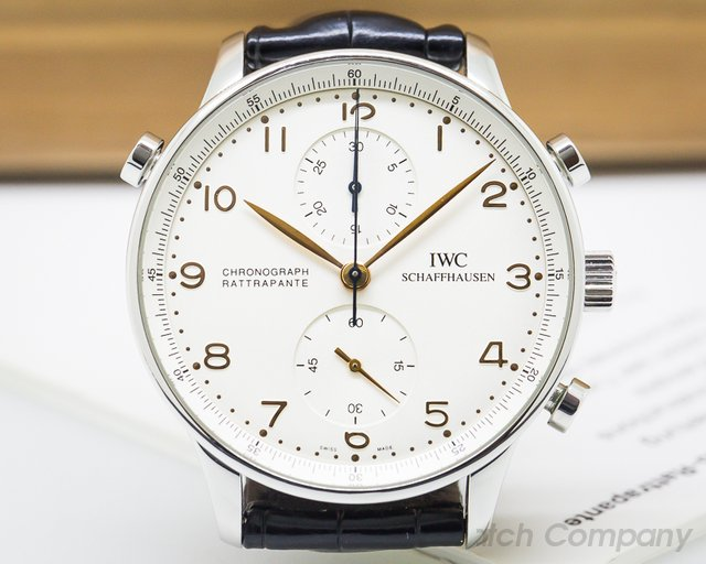 IWC Portuguese Chronograph Rattrapante SS COMPLETE