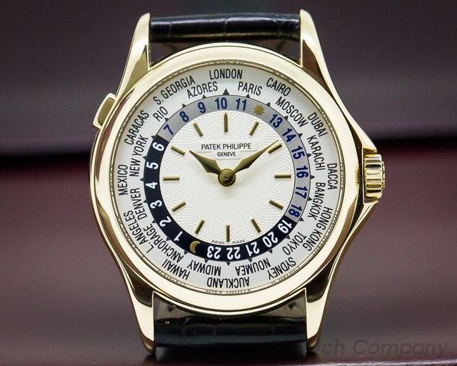 Patek Philippe 5110J-001 World Time 18K Yellow Gold