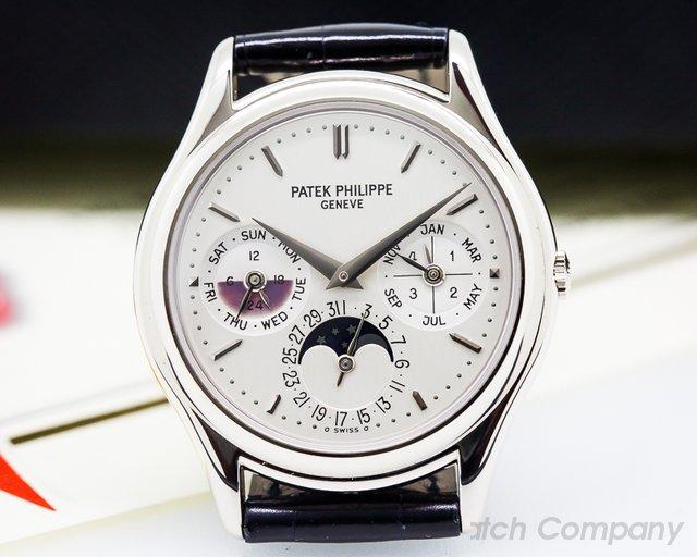 Patek Philippe 3940G Perpetual Calendar White Gold RARE PATINA
