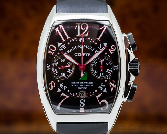 Franck Muller 8080 Mariner America's Cup Valencia Chronograph SS